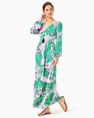 Lilly Pulitzer Mistral Ruffle Maxi Dress