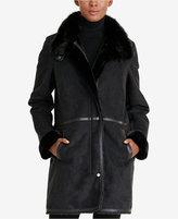 Lauren Ralph Lauren Faux-Fur-Collar Coat