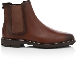 Coach Burnished Leather Chelsea Boots