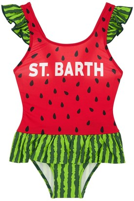 MC2 Saint Barth Watermelon One Piece Swimsuit