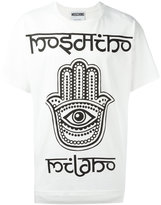 Moschino hamsa hand T-shirt - men - Cotton - S