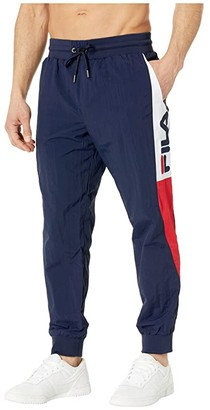 Fila Kilo Windpants (White/Peacoat/Chinese Red) Men's Casual Pants