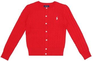 Polo Ralph Lauren Kids Cotton cardigan