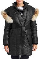 Rudsak Sophie Coyote Fur Hooded Coat