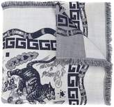 Gucci printed scarf