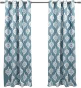 Set of 2 63In Medallion Thermal Blackout Grommet Top Curtain Panels
