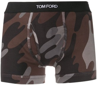 Tom Ford Camouflage Print Boxers