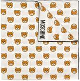 Moschino teddy bear motif scarf