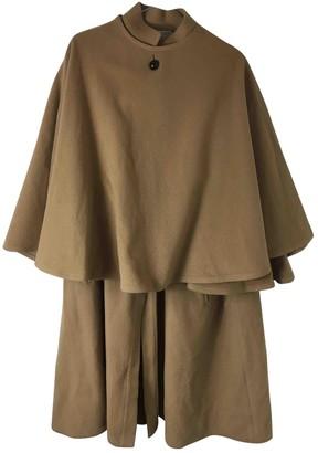 Gianfranco Ferre Camel Wool Coat for Women Vintage