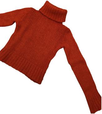 Miu Miu Orange Wool Knitwear