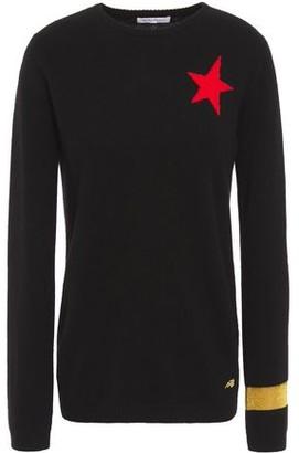 Bella Freud Jacquard-knit Cashmere Sweater