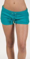 Juicy Couture Chevron Terry Short in Green