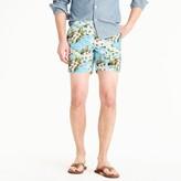 "J.Crew 6.5"" Tab Swim Short In Beach Floral"