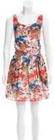 Carven Floral Print Sleeveless Dress w/ Tags
