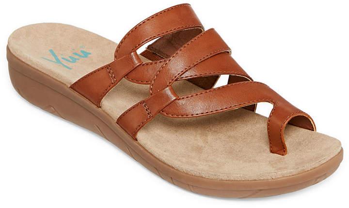 749a85a38ae4 Yuu Brown Women s Sandals - ShopStyle