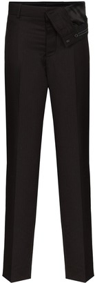 Y/Project Pinstriped Wool Trousers