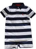 Ralph Lauren Boys Striped Cotton Jersey Shortall