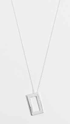 Le Gramme 3.4g Medium Brushed Chain Necklace