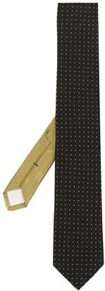 Prada Polka-Dot Print Tie