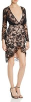 Style Stalker Stylestalker Lace Plunge Neck Dress