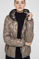 BCBGeneration Wave-Pattern Puffer Jacket