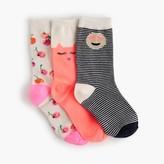 J.Crew Girls' trouser sock three-pack