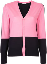 ASTRAET contrast button up cardigan