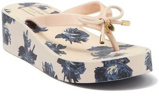 Kate Spade Rhett Floral Patterned Flip-Flop Sandal