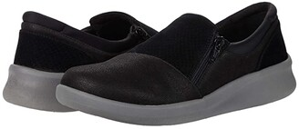 Clarks Sillian 2.0 Day (Black Synthetic Combi) Women's Shoes