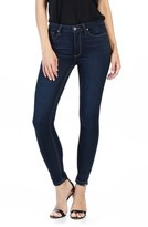 Paige Transcend Hoxton High Rise Ankle Skinny Jeans (Dayton)