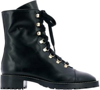 Stuart Weitzman Kolbie Military Boots