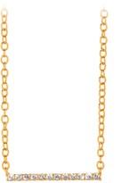 Gorjana Knox Pave Bar Necklace