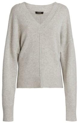 Isabel Marant Amy V-Neck Stretch-Cashmere Knit Sweater