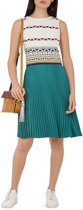Ted Baker Colour by Numbers Zannan Color-Block Dress