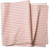 Maison Du Linge Candy Cane Stripe Table Runner - Ivory/Berry