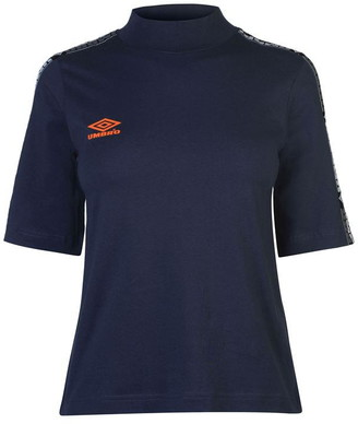 Umbro Short Sleeve Crop T Shirt