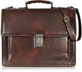 L.a.p.a. Cristoforo Colombo Collection Leather Briefcase