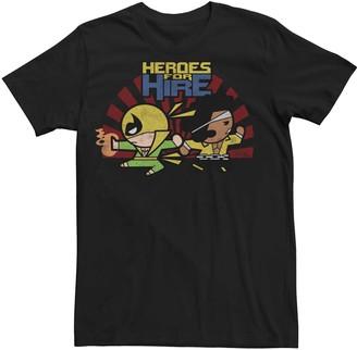 Iron Fist Men's Marvel Luke Cage Heroes Kawaii Tee