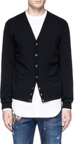 DSQUARED2 Two-in-one cardigan and shirt
