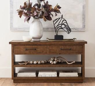 "Pottery Barn Novato 56"" Reclaimed Wood Console Table"