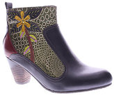 Spring Step L'Artiste Leather Ankle Boots - Dramatic