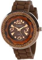 Rocawear RL0125BR1-015 40mm Brown Steel Bracelet & Case Mineral Women's Watch