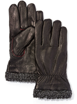 Rawlings Sports Accessories Black Touch Screen Goat Leather Sweater Detail Glove - Men