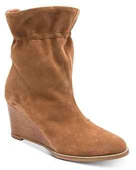 Andre Assous Women's Sol Cinched Wedge Heel Boots