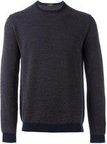 Zanone loose-fit longsleeves sweater - men - Virgin Wool - 48