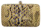 Tory Burch Embossed Suede Clutch