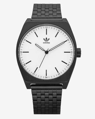 Express Adidas Men'S Process M1 Black Stainless Steel Watch