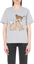 Markus Lupfer Bambi-embellished cotton t-shirt