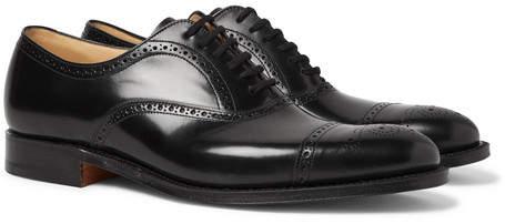 Church's Toronto Cap-Toe Leather Oxford Brogues