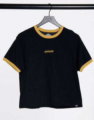 Dickies Gretnat-shirt in black